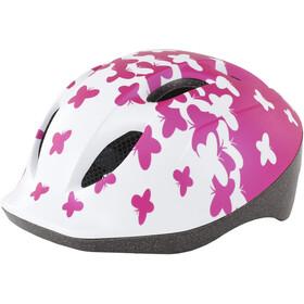 MET Buddy Casque Enfant, pink butterflies